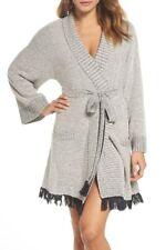 Skin Women's 3 Night Sky Cozy Boucle Short Robe MSRP $275