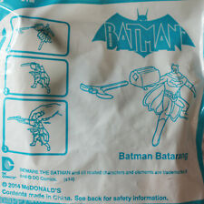 2014 McDonald's Happy Meal Toys - Batman Batarang Toy Action Figure, NIP