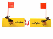 "Planer Board Flag trolling systems Left&Right,Large,L10""xW3.5`` similar opti"