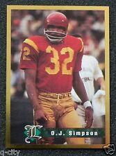 O.J. SIMPSON 1994 Legends USC Gold Foil Border Card _ VERY, VERY RARE