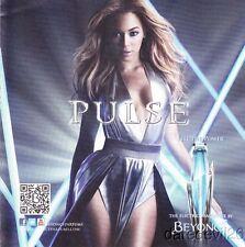 "Beyonce ""Pulse"" Promo Perfume Sample Thinstock Card"