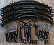 10k- 12k trailer tandem axle, 4 springs, shackles, bolts and u-bolts for trailer