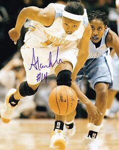 Alexis Hornbuckle Autographed 8x10 Tennessee Phoenix Mercury