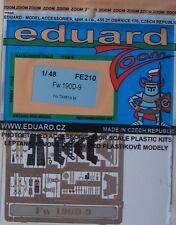 Eduard 1/48 couleur FE210 zoom etch pour le tamiya focke wulf Fw190D-9