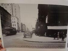 1929 Lexington E34 St Trolley Manhattan NYC New York City Photo