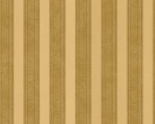 Versace Home Wallpaper 935893 Tapete beige Streifen Metallic Satin Barock Vlies