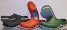 Damen Herren GARTENCLOGS Gartenschuhe Clogs Gr.38-45 schwarz/rot/grün NEU