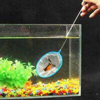 Aquarium Fish Tank Mix Color Dense Mesh Round Small 36cm·~- Net Fishing Por T5C2