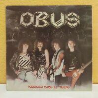 Obus – Poderoso Como El Trueno LP Vinyl (Spain1982 Chapa discos) VG+