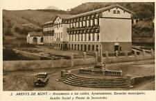 CPA CATALUNYA ESPAGNE ARENYS DE MUNT MONUMENTO A LOS CAIDOS