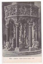 Pulpito Cattedrale Pisa Italy 1910c postcard