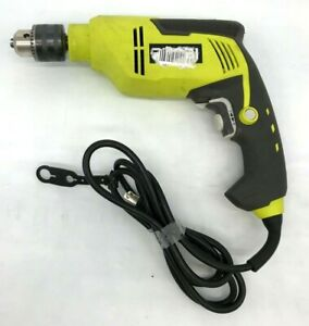 "RYOBI D620H 5/8"" 6.2 Amp HEAVY DUTY VARIABLE SPEED CORDED HAMMER DRILL, G M"