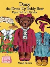 Daisy the Dress-up Teddy Bear Paper Doll by Ming-Ju Sun Paper Doll Book