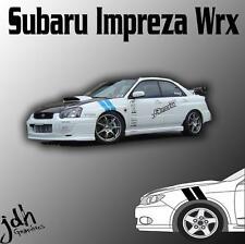 Subaru Impreza WRX Hash Mark Stripes Vinyl Decal Sticker Graphics Kit Brz Car