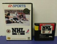 NHL 94 Hockey - Sega Genesis Rare Game Tested Box Best Hockey Game Ever ! 1994