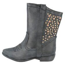 Chaussures noires en synthétique pour fille de 2 à 16 ans pointure 35
