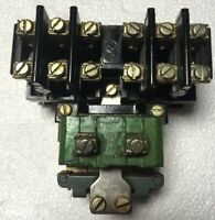 GE Machine Tool Relay CR2810A14 DE 115V Coil 10A 600V Used