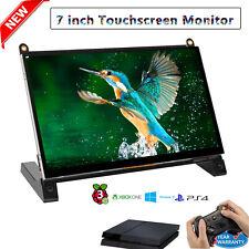 "7"" Inch LCD CCTV Car Monitor PC Screen USB for HD 600P Raspberry Pi 2/3B/4 USA"