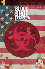 BLOOD SHOT USA 1 retailer exclusive summit variant 2016 VALIANT baltimore LEMIRE