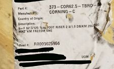 Corning 006K8F-31130-29 Freedm One 6-Fiber Tight Buffer Riser In/Out Black/250ft