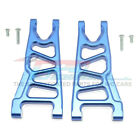 GPM Racing Aluminum Front Lower Arms Blue : 4x4 Granite / Big Rock