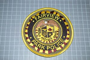 Fairview Tennessee Park Police Patch (B17-8)