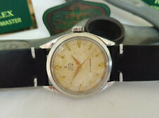 RARE VINTAGE ROLEX TUDOR OYSTER ROYAL SILVER DIAL MANUAL WIND MAN'S WATCH