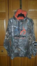 MEN'S REALTREE OUTFITTERS XTRA CAMO PULLOVER FLEECE HOODIE HUNTING SIZE L - NWT