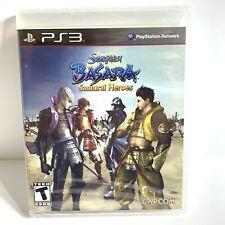 Sengoku Basara: Samurai Heroes (Sony PlayStation 3, 2010) PS3 Sealed