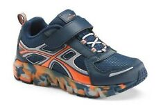 NIB $40-Boys Jumping Beans Blue & Orange Athletic Running Shoes Youth Size 13