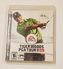 Tiger Woods PGA Tour 09 Sony PlayStation 3 Game With Case & Instruction Booklet