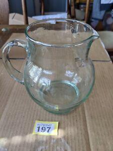 Stylish Green Glass Jug y197
