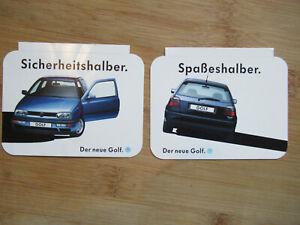 Golf III * Reklame * 2 Aufkleber Sticker