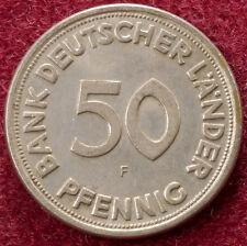 Alemania 50 Pfennig 1949 F (B2703)