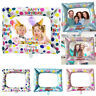 Kids Girls Birthday Party Selfie Inflatable Foil Photo Frame Photo Booth Prop Y8