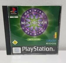 Wer Wird Millionär -3 Dritte Edition Playstation 1 PSone PS1 OVP+Anleitung A3160