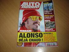 Auto hebdo N°1788 Fernando Alonso.Cosworth Group.Mazda MX-5 Open Race.Delecour
