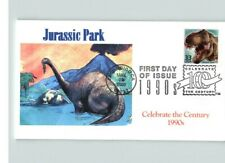 JURASSIC PARK, Dinosaurs, Celebrate the Century 1990s, First Day of Issue