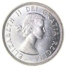 Silver Dollar 80% 1964 Canada Canadian ASW .60 Troy Ounces *335