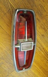 Original 1966 Ford Country Sedan-Country Squire Tail Light & Bezel-US