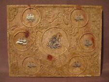 Ancien plateau à saké Chine en pierre et nacre