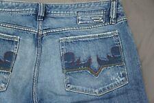 Diesel Zaf Italian Made Bootcut 100% Cotton Denim Jeans. Men's Size 38X28, GUC!