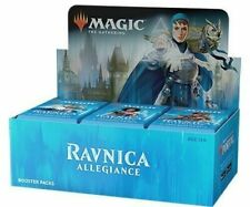 MTG Magic The Gathering Ravnica ALLEGIANCE Fábrica Sellada Caja del aumentador de presión