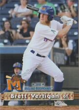 2018 Midland RockHounds Brett Vertigan RC Rookie Oakland Athletics