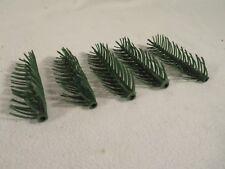 (4) Vintage Warren Plastic Christmas Tree ~ Pine Needle Parts