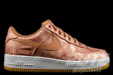 NIKE AIR FORCE 1 PRM CLOT ROSE GOLD SILK Sz 4-13 CJ5290-600 WHITE GUM SOLE