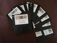 36 disquettes sample Drums + synthés analogiques  AKAI S5000 S6000 Z4 Z8