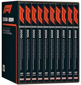 Formel 1 Saison Rückblick 2000 - 2009 [10x DVD] *NEU* F1 01 02 03 04 05 06 07 08