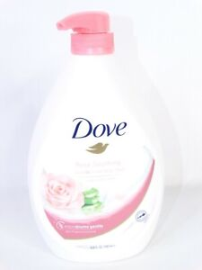 Dove Go Fresh Body Wash Rose Soothing Rose + Aloe Vera 33.8oz New Rare