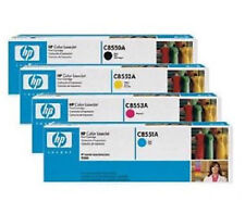 4 Original toner set HP Color Laserjet 9500 9500hdn/822a c8550a c8551a-c8553a